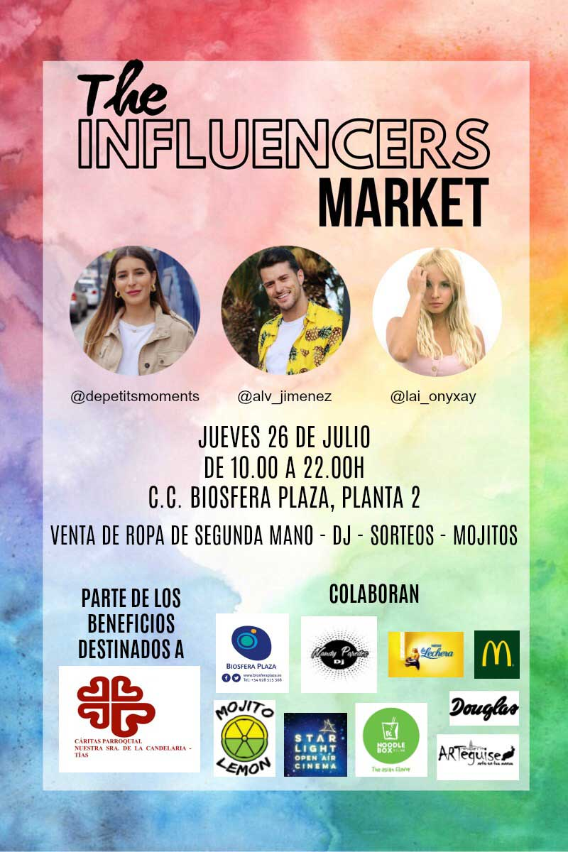 the influencer markets biosfera