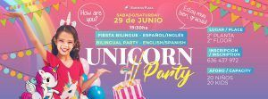 fiesta unicornio unicorn party