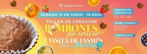 taller coina saludable bombones sin azucar